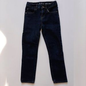 The Children Place Boy's Blue Wash Skinny Jeans